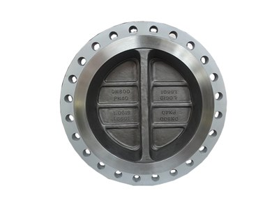 Double flanged  dual plate  check valve
